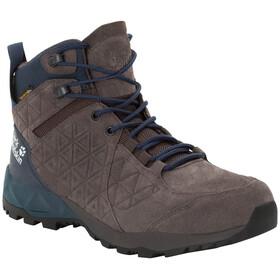 Jack Wolfskin Cascade Hike LT Texapore Middelhoge Schoenen Heren, dark steel/dark blue